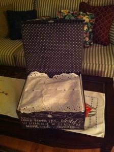 NAA box scarf