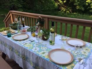 Retreat dinner