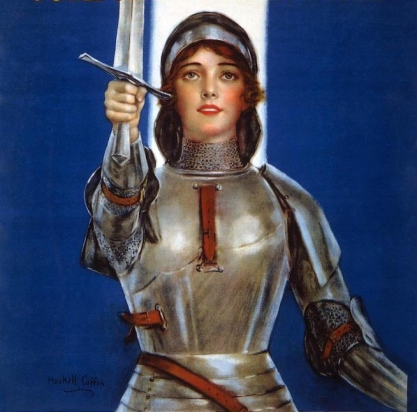 joan-of-arc-saved-france-women-of-america-save-your-country-buy-war-savings-stamps-haskell-coffin