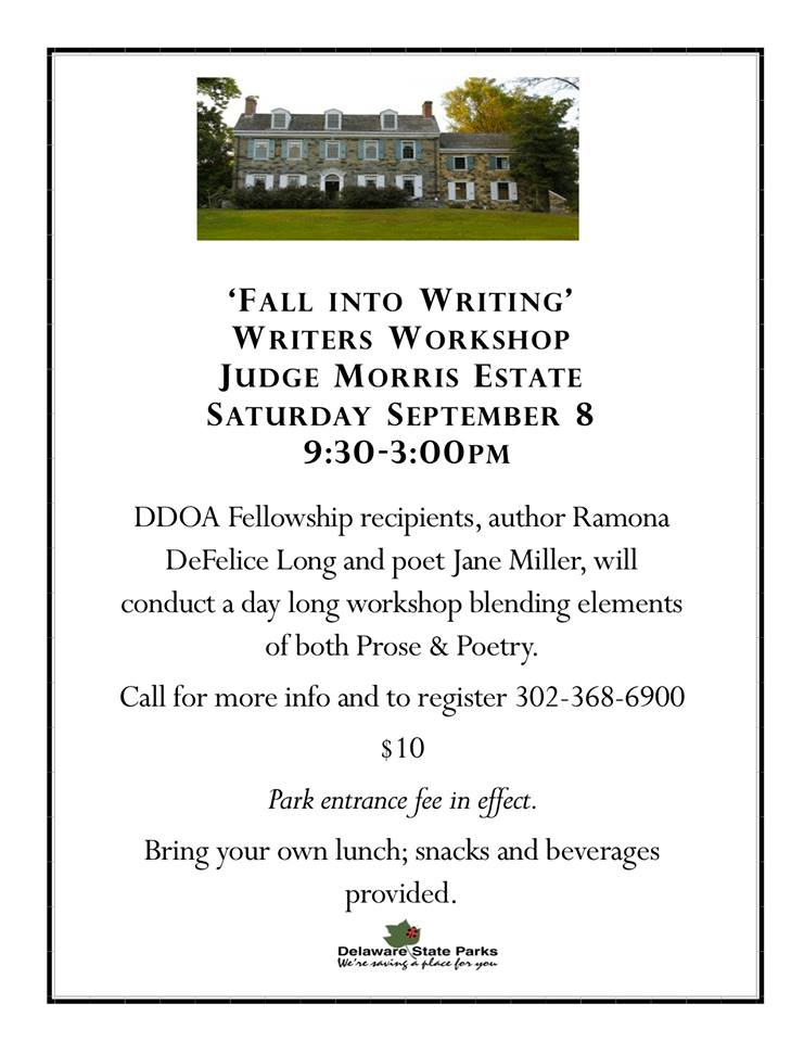 Fall into writing