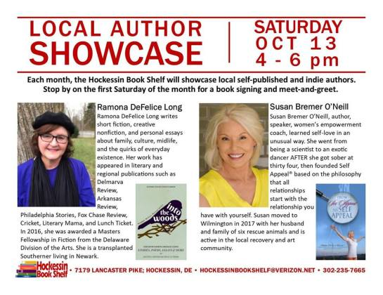 Hockessin Author Signing